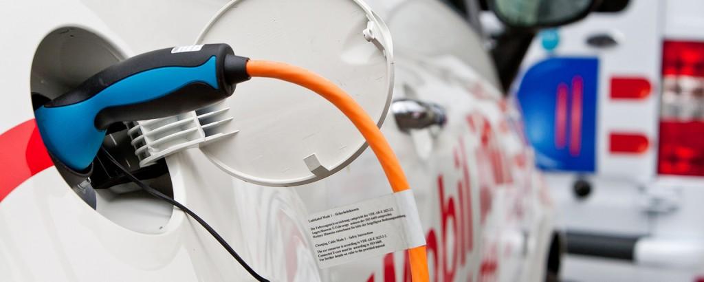 Hochvolt-Batterien im Fahrzeug