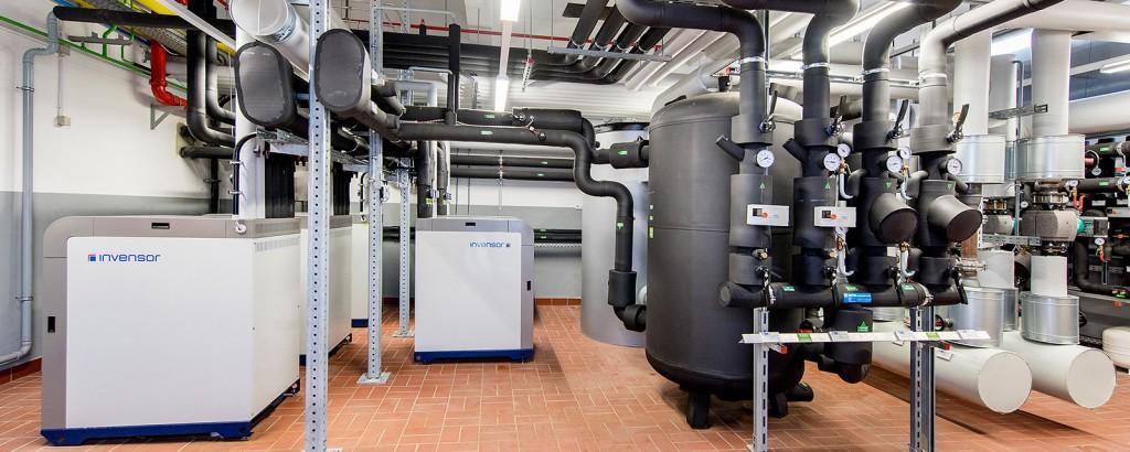 Wärmepumpen - günstige Wärme und Kälte aus Strom, Gas und Warmwasser