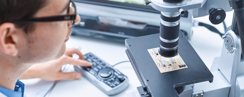 Ausfallursachen- und Schadensanalytik an elektronischen Baugruppen