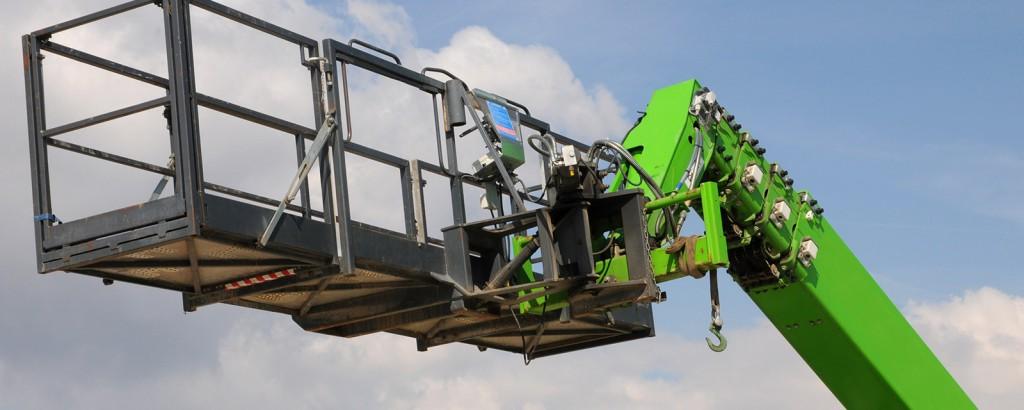 Befähigte Personen zur Prüfung von Teleskopmaschinen aller Bauarten inklusive Anbaugeräte