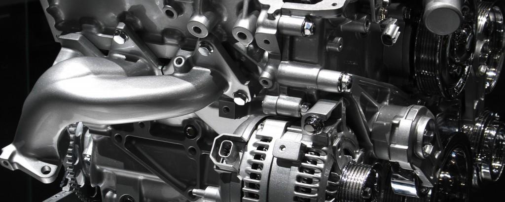Motorenentwicklung und Prüfung am Motorprüfstand