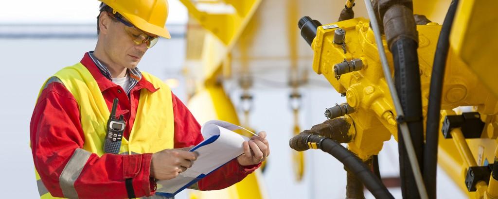 Instandhaltung von Hydraulikanlagen einschließlich Schläuchen