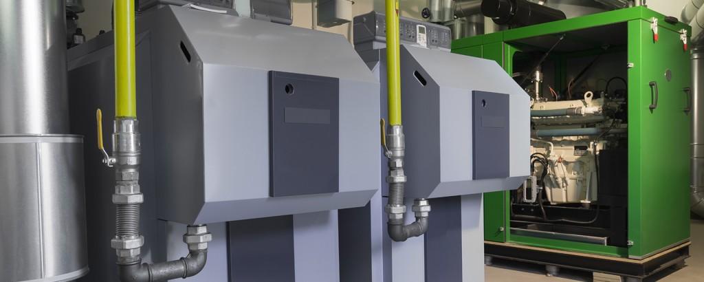 Grundlagen BHKW - dezentrale Energieerzeugung mit Blockheizkraftwerken