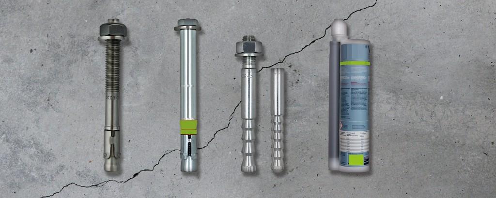 Verankerungen in Beton – Mechanische und chemische Dübelsysteme für tragende Verbindungen