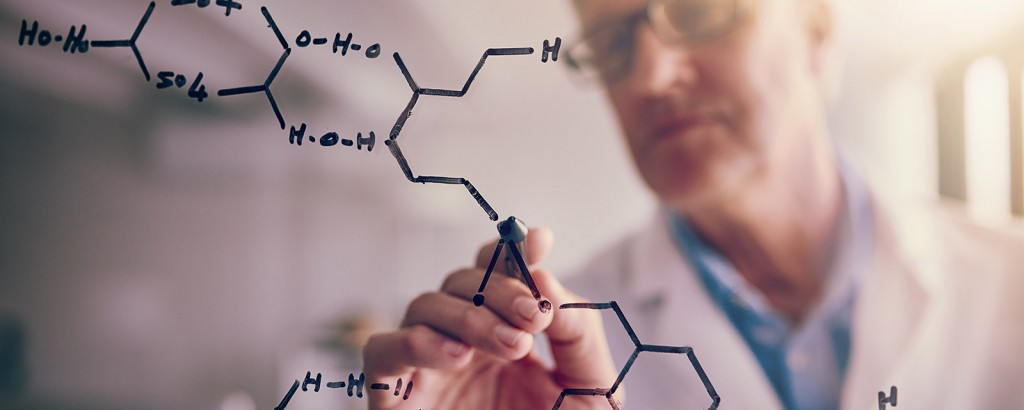 Der F+E-Leiter im Chemieunternehmen
