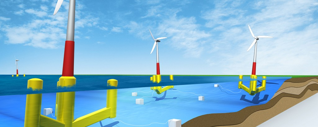 Schwimmende Offshore Windkraftanlagen – Floating Turbines