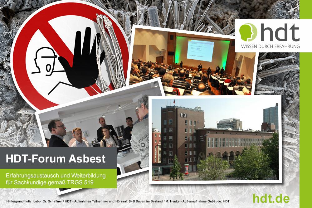 Forum Asbest: Nachbericht und Ausblick